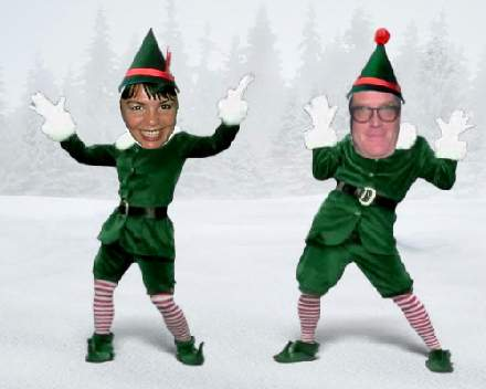 This is a picture of Old Fashioned Elf Yourself Printable
